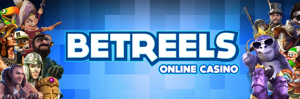 Betreels Main Logo with game characters.jpg