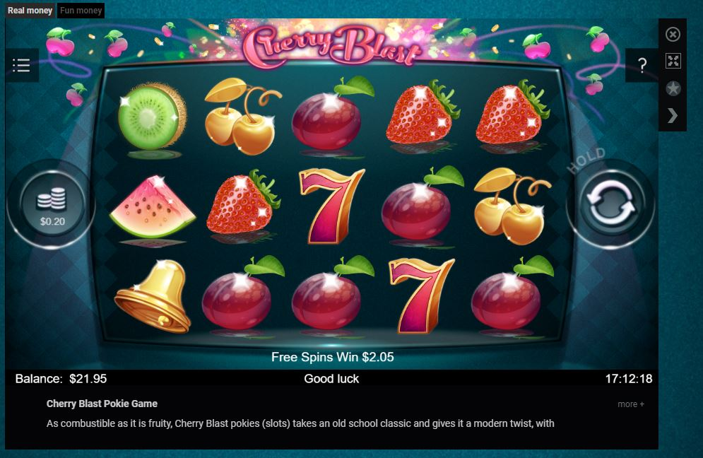 EMU CASINO_6_PLAY POKIE_CHERRY BLAST.JPG