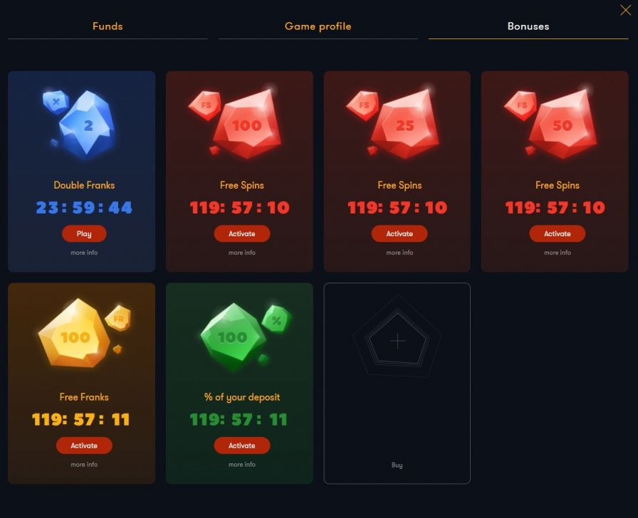 Frank Casino 5_Bonuses options.JPG